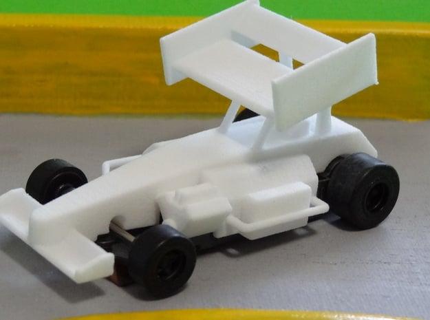 HO IMSA Super Modified Body in White Processed Versatile Plastic