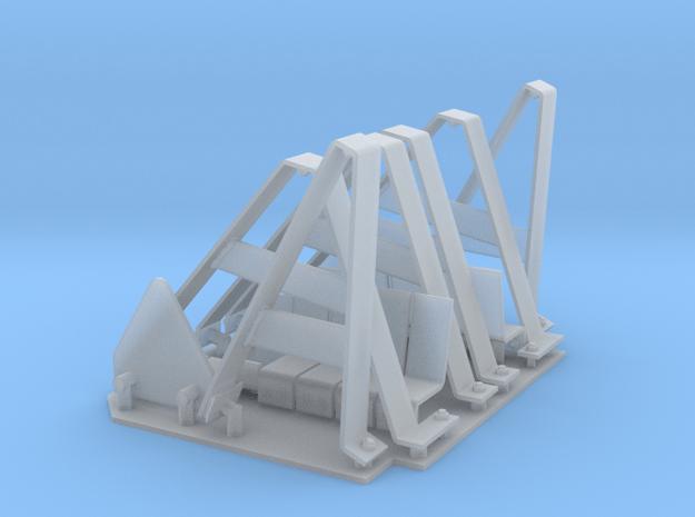 StuG IV Schürzen hangers 1:15 in Smooth Fine Detail Plastic