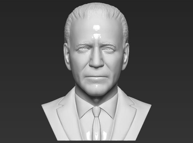 Joe Biden bust in White Natural Versatile Plastic