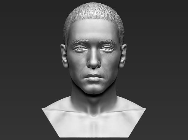 Eminem bust in White Natural Versatile Plastic