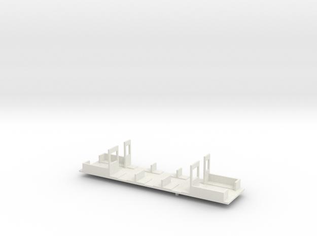 HSB TW 44 Inneneinrichtung in White Natural Versatile Plastic
