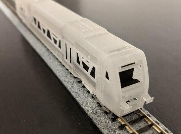 N09A - Deutsche Bahn RegioShuttle RS1 - Part A  in Smooth Fine Detail Plastic