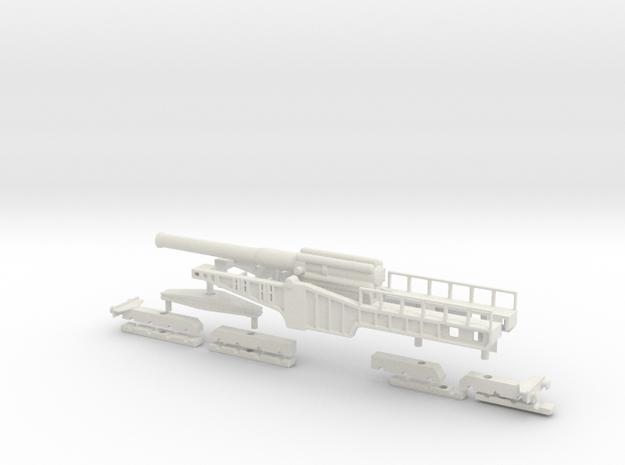 Vickers bl 12 inch Mk 1 mounting 00 1/76 rail gun