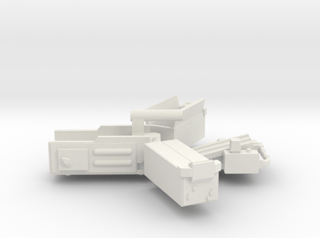 Ghost Trap Set With Pedal (Updated) in White Natural Versatile Plastic