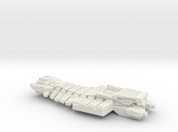 Turbo Board - Multisize in White Natural Versatile Plastic: Medium