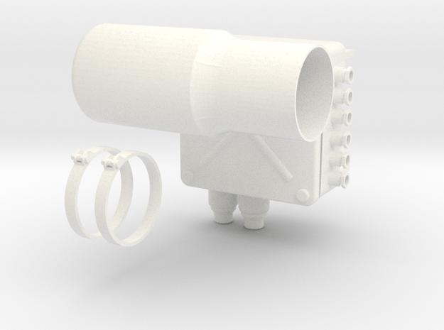ASTAZOU PRO 6000 (A) in White Processed Versatile Plastic