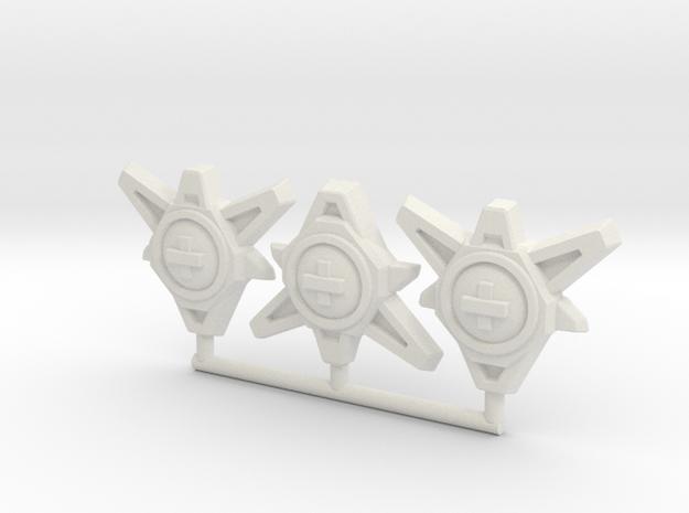 TCG - Regen Cores - Siege Compatible in White Natural Versatile Plastic: Medium