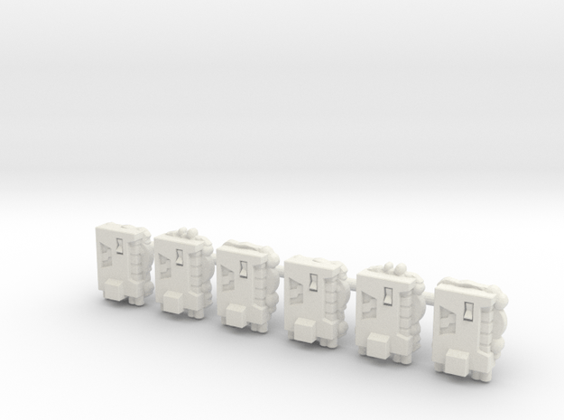 TCG - Phase Charge - 5mm in White Natural Versatile Plastic: Medium