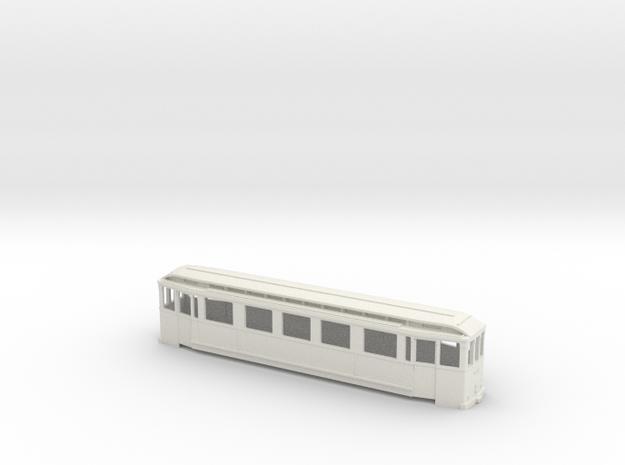 HSB 153 Wagenkasten in White Natural Versatile Plastic