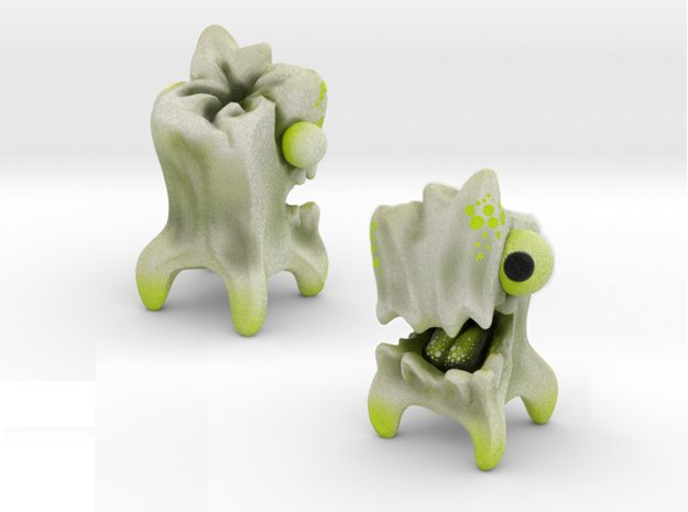 Tooths'Em in Natural Full Color Sandstone: Small