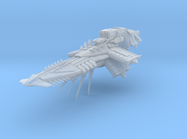 Arc_cruiser_small in Smooth Fine Detail Plastic