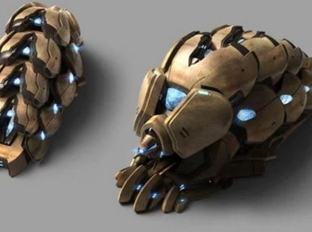 Protoss Reaver in Smooth Fine Detail Plastic