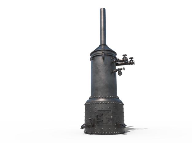 Vertical steam boiler in Gray PA12: 1:48 - O