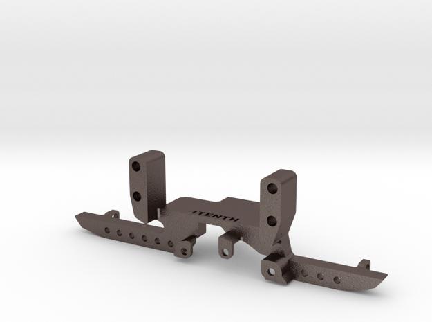 Metal Heavy Front Truss w SOA for Redcat Portal in Polished Bronzed-Silver Steel