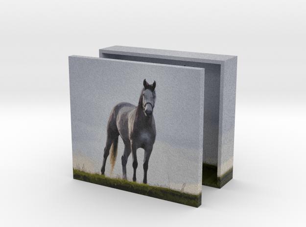 Mustang Box 4in in Full Color Sandstone