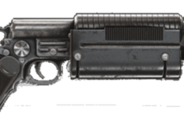 Super Borwo Katarn Blaster in Black PA12