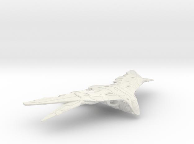 Benatar-6_inches in White Natural Versatile Plastic
