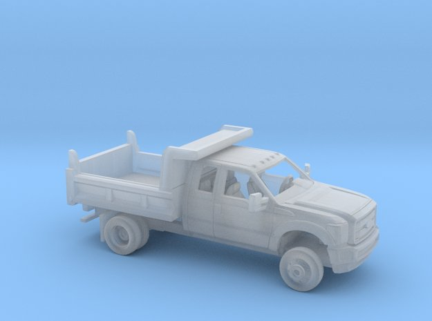 1/160 2011-16 Ford F Series Ext Cab Dump Kit in Smoothest Fine Detail Plastic