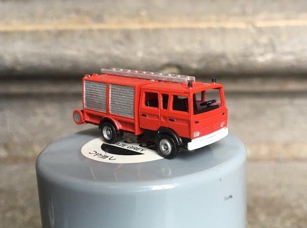 Renault Midliner firetruck N - 1:160 in Smoothest Fine Detail Plastic
