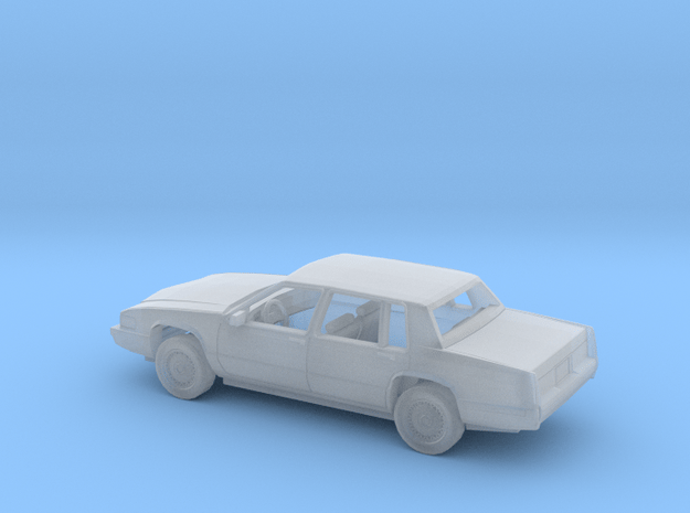 1/87 1989-92 Cadillac DeVille Sedan Kit in Smooth Fine Detail Plastic