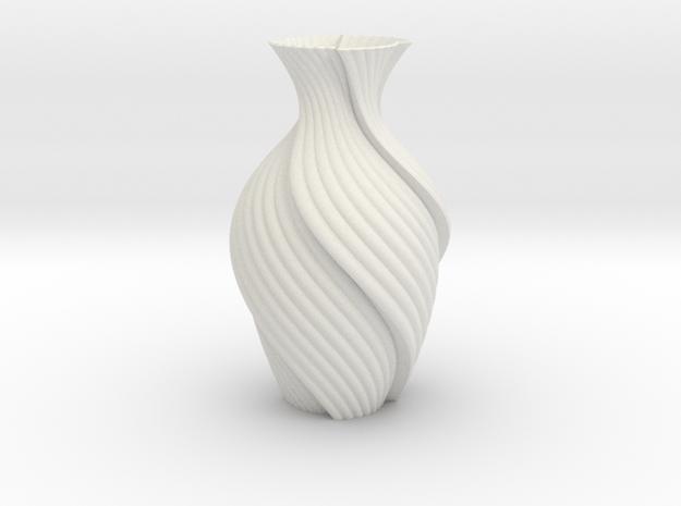 Vase 816j in White Natural Versatile Plastic