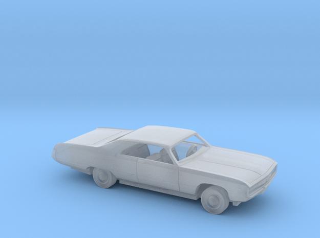 1/80 1970 Chrysler 300 Kit in Smooth Fine Detail Plastic