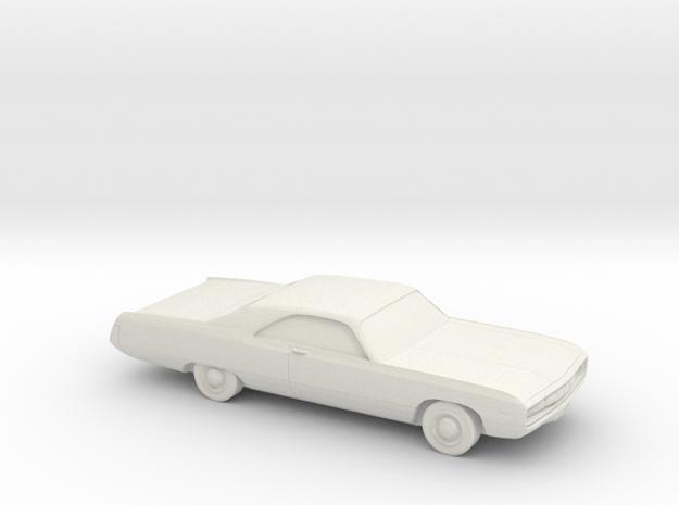 1/80 1970 Chrysler 300 in White Natural Versatile Plastic