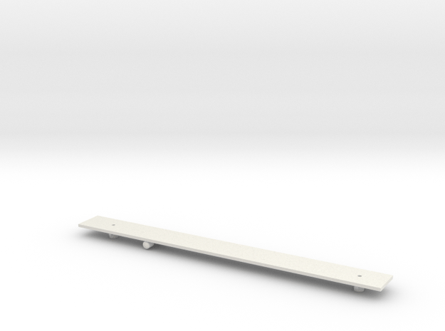 Scotrail Class 380 TOS Chassis N Gauge in White Natural Versatile Plastic