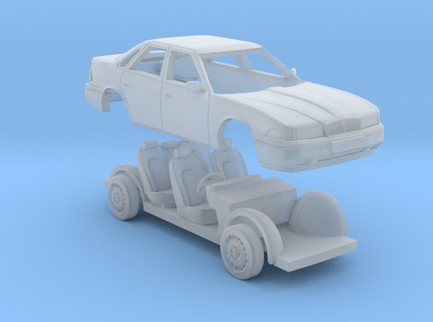 Rover 800 Saloon 1/76 in Smooth Fine Detail Plastic