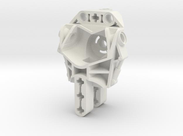Metru Body in White Natural Versatile Plastic