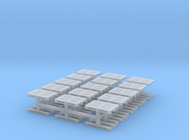 Europaletten 30er Set - TT 1:120 in Smooth Fine Detail Plastic