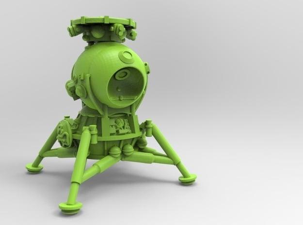 1/60 LK lander in White Natural Versatile Plastic