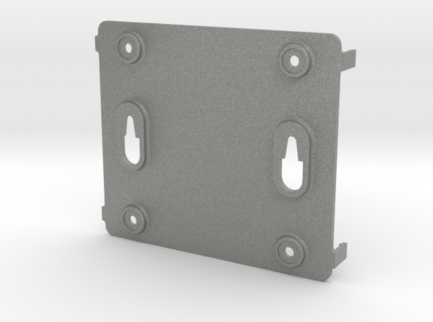Nvidia Jetson Xavier nx Developer Case Bottom in Gray PA12