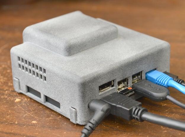 Nvidia Jetson Xavier nx Developer Board Case Top in Gray PA12