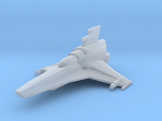 Colonial Viper Mk VII in Smooth Fine Detail Plastic
