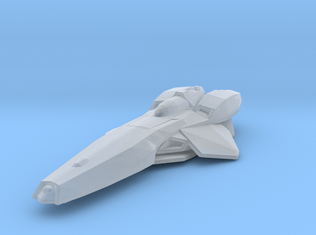 Colonial Stealthstar in Smooth Fine Detail Plastic