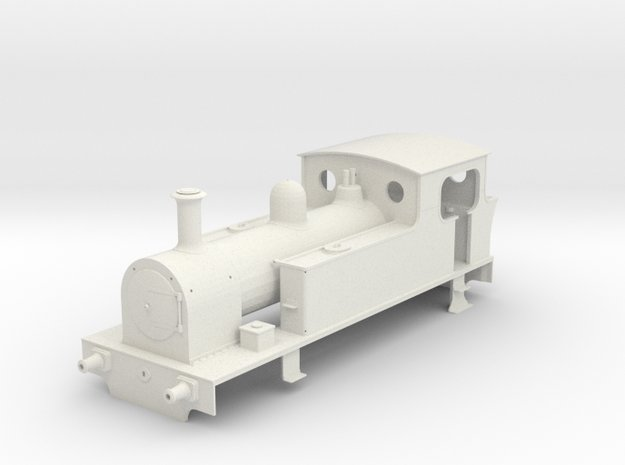 NSR KS 0-6-0T Body Complete With Fittings Draft5 S