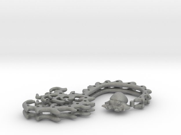 2X Cable Wire Organizers + an Octopus! in Gray PA12