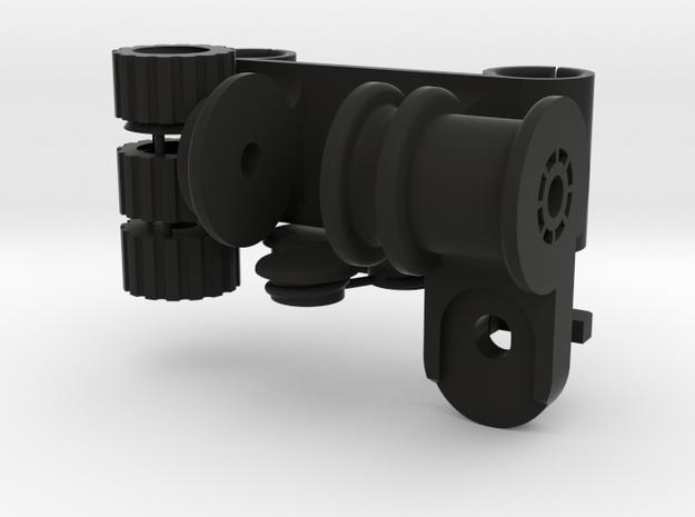 BASE1560PADUNI in Black Natural Versatile Plastic