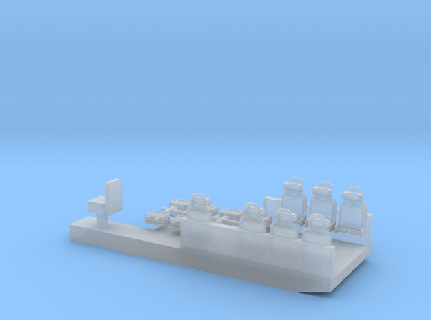 VCZAP-CASTOR-H0-PIEZA-INTERIOR-proto-01 in Smoothest Fine Detail Plastic