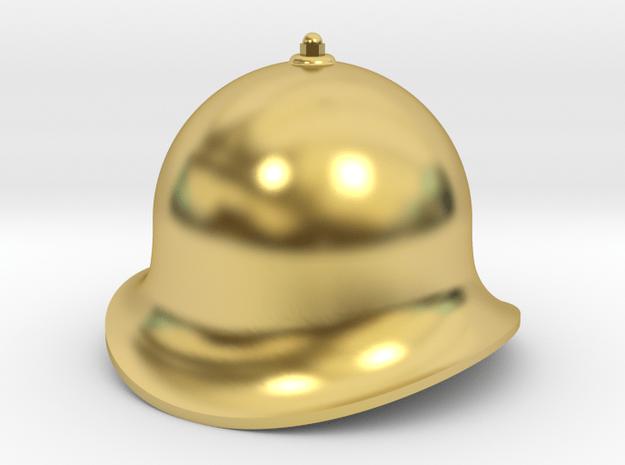 QH003 Quarry Hunslet Velinheli Dome, SM32 in Polished Brass