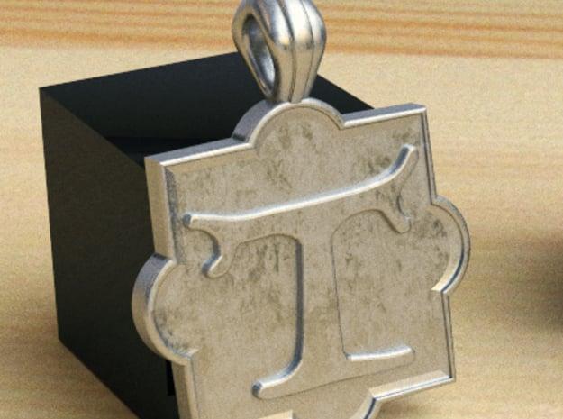 pendente tau quadribolo in Polished Silver