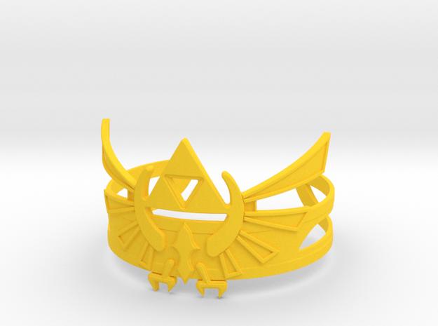 Zelda Bracelet in Yellow Processed Versatile Plastic