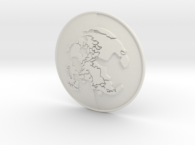 MSF badge in White Natural Versatile Plastic