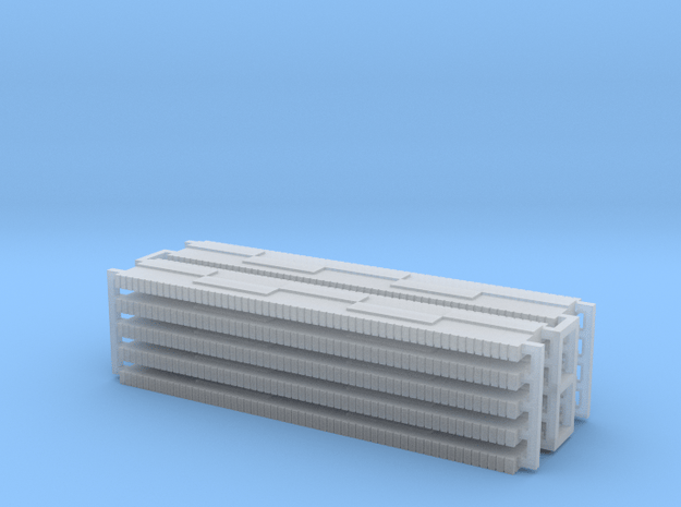 Walther's wall segments x 10 in Smooth Fine Detail Plastic