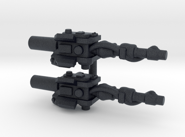 """Sparkbuster"" Neutrina Wands (5mm) in Black PA12: Medium"