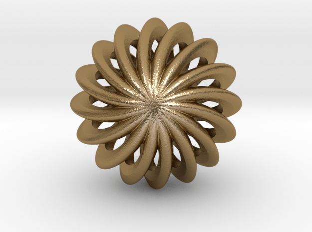 Brilliants S in Polished Gold Steel: Small