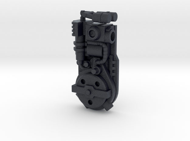 """RGB-Style """"Sparkbuster"""" Proton Pack (5mm) in Black PA12: Medium"""
