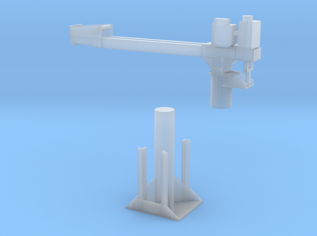 EWR crane in Smooth Fine Detail Plastic