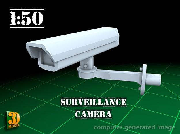Surveillance Camera (1/50) in Smooth Fine Detail Plastic